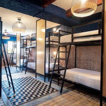 Dormitorio para 10 personas Selina