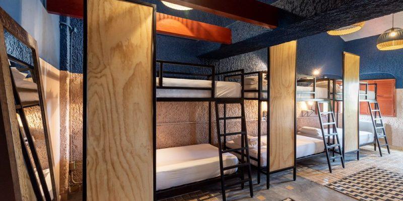 Dormitorio para 8 personas Selina zona hotelera