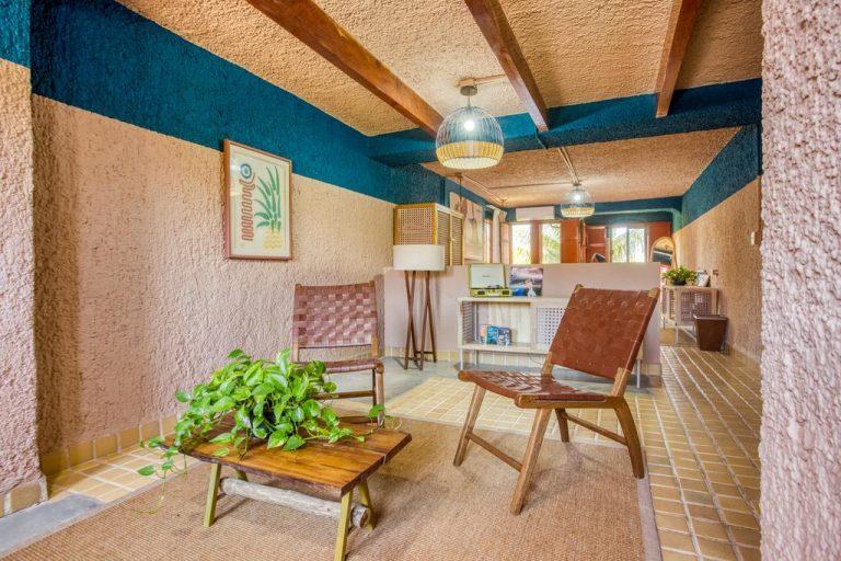 Suite unique sala de estar